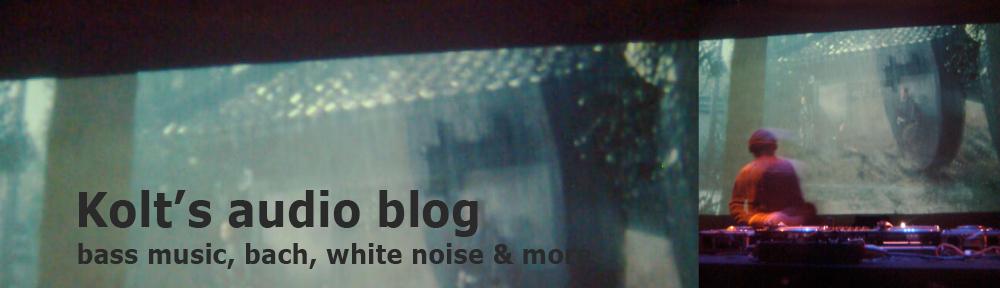 Kolt's audio blog