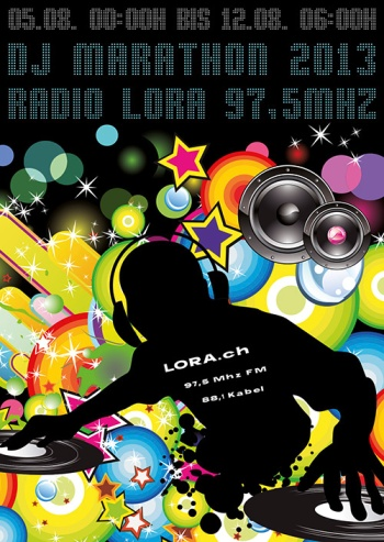 LORA DJ MARATHON 2013